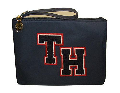 Tommy Hilfiger Logo Wristlet Bag Navy Woman's