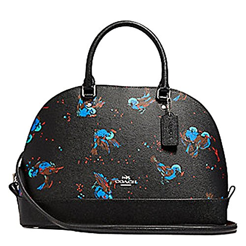 Coach Leather Handbag Bag Bird Medium F23456