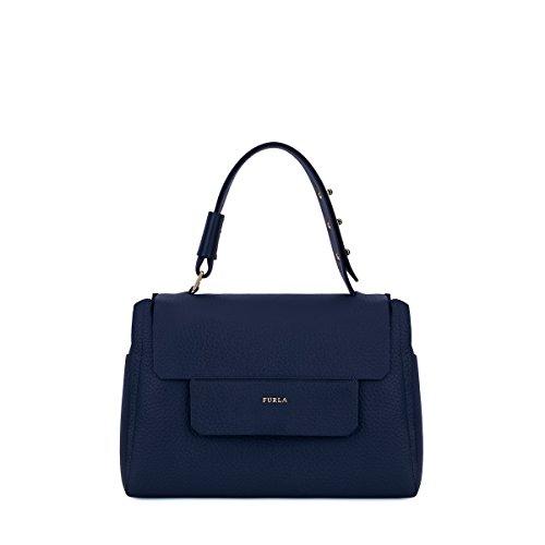 Furla Capriccio hand bag blue