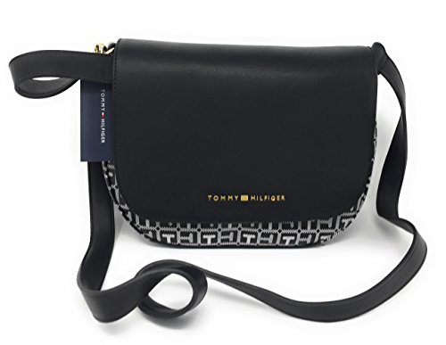 Tommy Hilfiger Effortless Chic Crossbody Bag Signature – Black