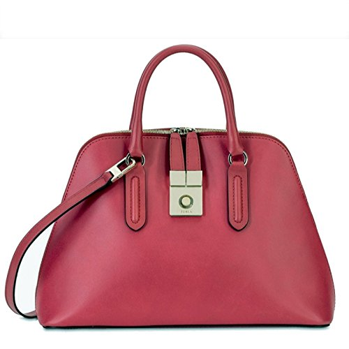 Furla Peggy Medium Leather Dome Satchel