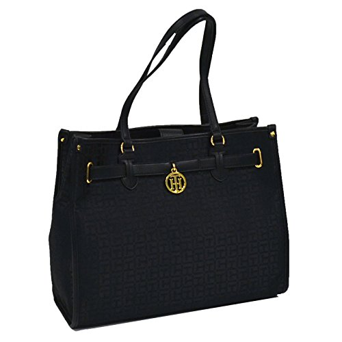 Tommy Hilfiger Jacquard Tote Purse