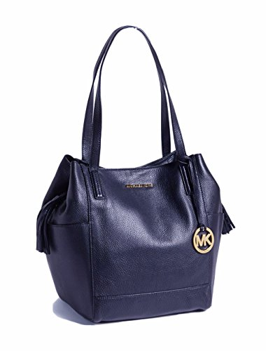 Michael Kors Large Ashbury Grab Leather Bag Navy