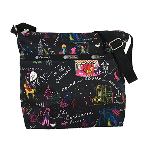 LeSportsac Small Cleo Crossbody Bag, Wonderland
