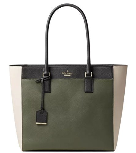 Kate Spade New York Cameron Street Havana Open Top Tote, Evergreen