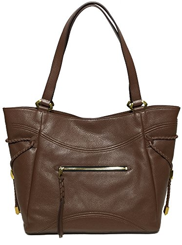 orYANY Woman's Italian Leather Tote, Brown