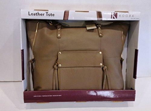 Kooba Leather Tote (Taupe)