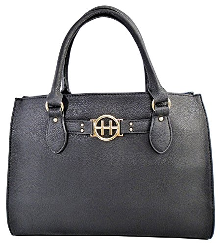 Tommy Hilfiger Black Top Handle Shopper