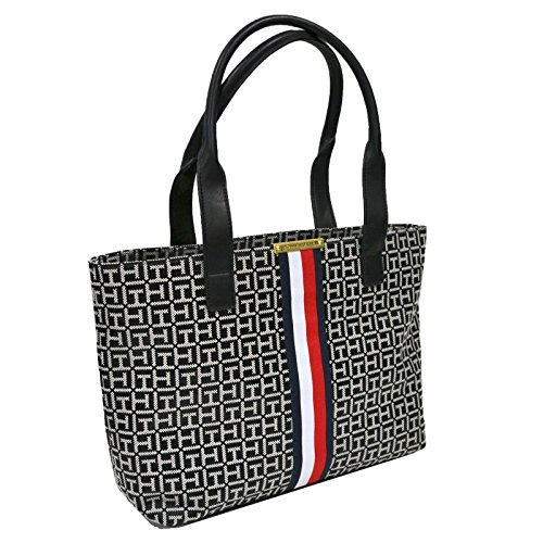 Tommy Hilfiger Shopper Purse With Signature Stripe