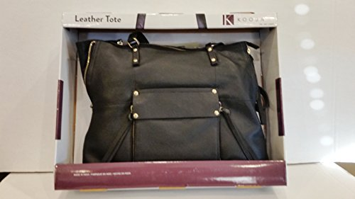 Kooba Leather Tote (Black)