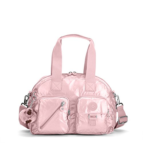 Kipling Women's Defea Metallic Handbag One Size Icy Rose Metallic