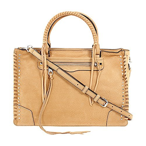Rebecca Minkoff Regan Ladies Large Leather Satchel Handbag HSP7EWSS31