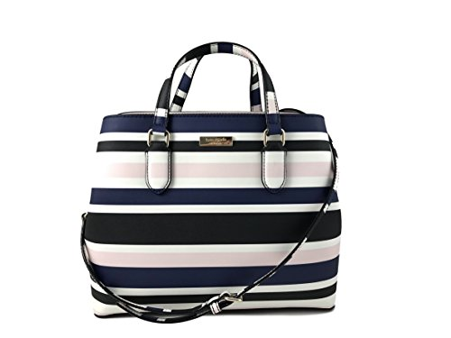 Kate Spade New York Evangelie Laurel Way Printed Handbag in Cruise stripe