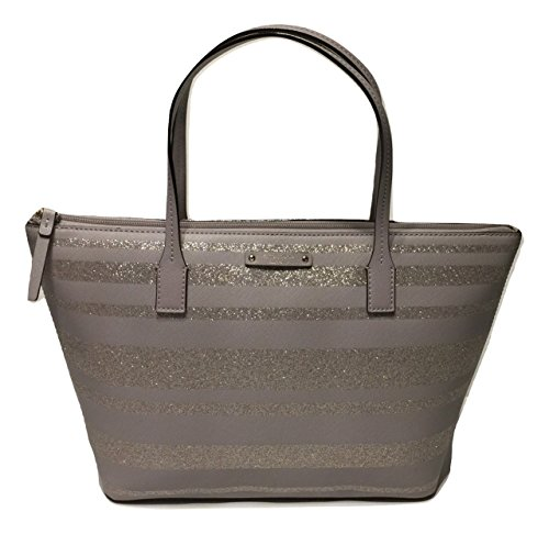 Kate Spade New York Haven Lane Hani WKRU4787 Beige Glitter Stripes nvxntrl/st (055)