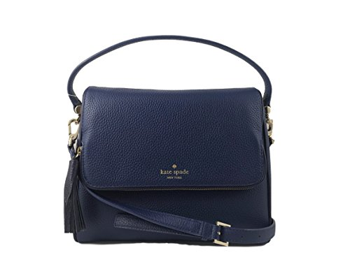 Kate Spade New York Chester Street Miri Pebbled Leather Bag in Ocean Blue/Offshore