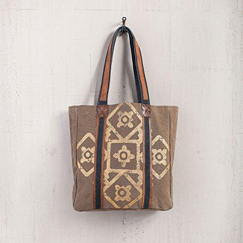 Mona B Mosaic Tote Bag M-3700