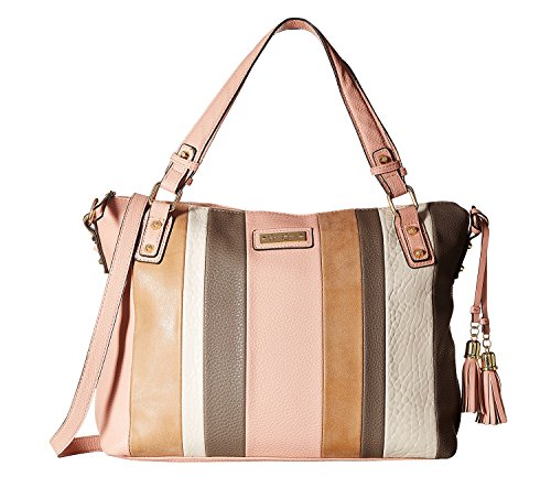 Jessica Simpson Women's Vesey Satchel Vintage Rose Multi Handbag