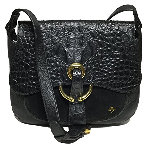 orYANY Woman's Leather/Suede Cross Body, Black