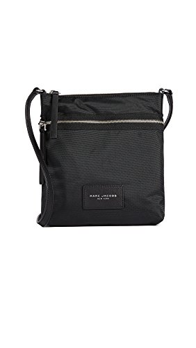 Marc Jacobs Women's Nylon Biker Cross Body Bag, Black, One Size