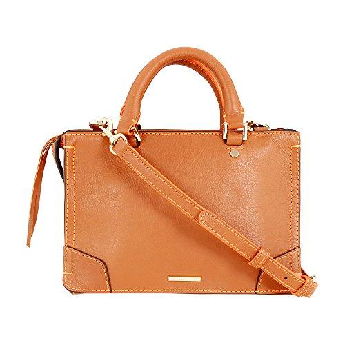 Rebecca Minkoff Micro Regan Ladies Small Leather Satchel Handbag HU17IRCX61