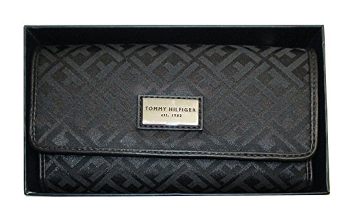 Tommy Hilfiger Womens Wallet, TH Signature Wallet