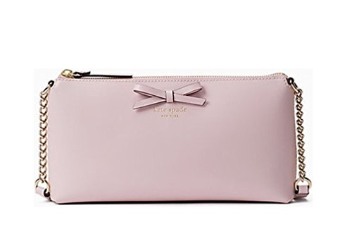 Kate Spade New York Sawyer Street Declan Classic Leather Crossbody Bag – Plum dawn