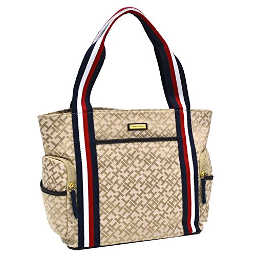 Tommy Hilfiger Tote Purse (TH Beige)