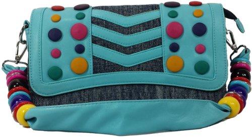 k13504 Mylux Women/Gril Close-out Clutch Bag (blue)