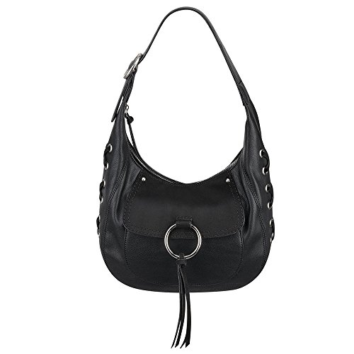 Nine West Ring Decoder Handbag, Black