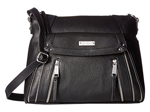 Jessica Simpson Women's Zuri Large Crossbody Black Crossbody Bag