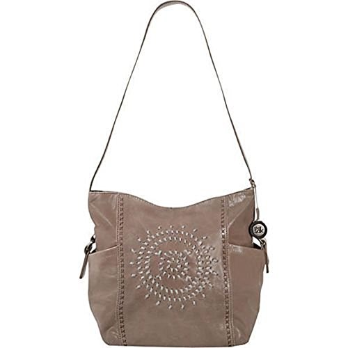 The SAK Kendra Bucket Whipstitch Shoulder Bag Shitake