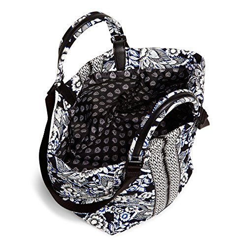 Vera Bradley Change It Up Tote Snow Lotus