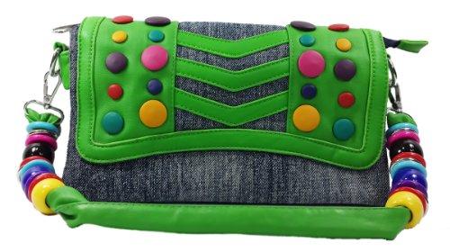 k13504 Mylux Women/Gril Close-out Clutch Bag (green)