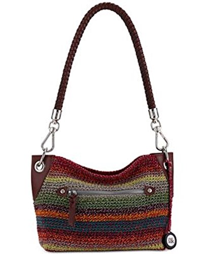 The Sak Portola Hobo Shoulder Handbag Gypsy Stripe