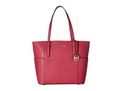 MICHAEL Michael Kors Jet Set Travel Large Tote (Ultra Pink)