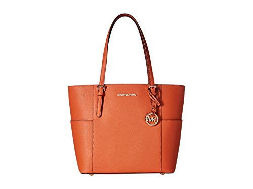 MICHAEL Michael Kors Jet Set Travel Large Tote (Tangerine)