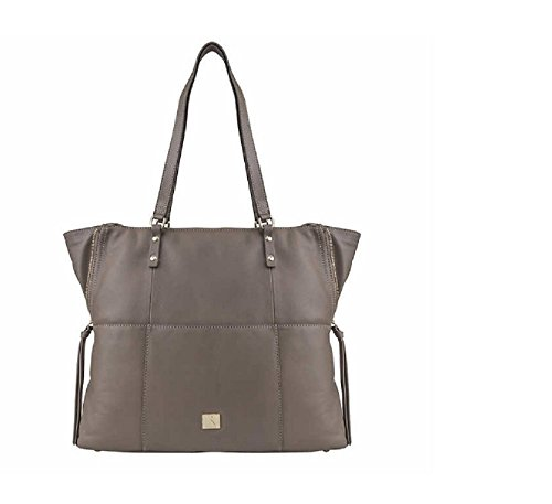Kooba Genuine Leather Tote (Taupe) Large