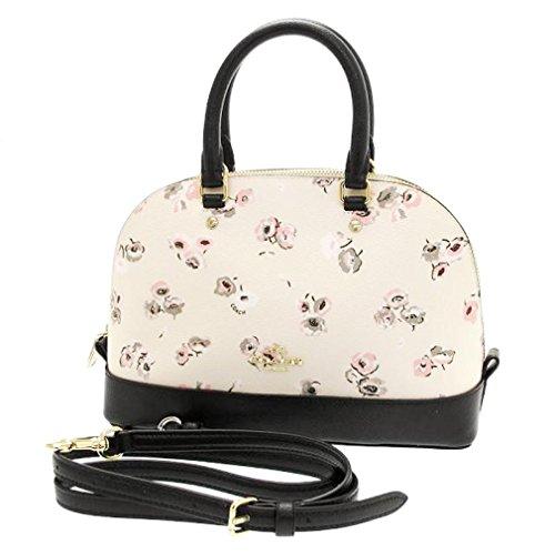 Coach Mini Sierra Small Wildflower Satchel Bag Handbag
