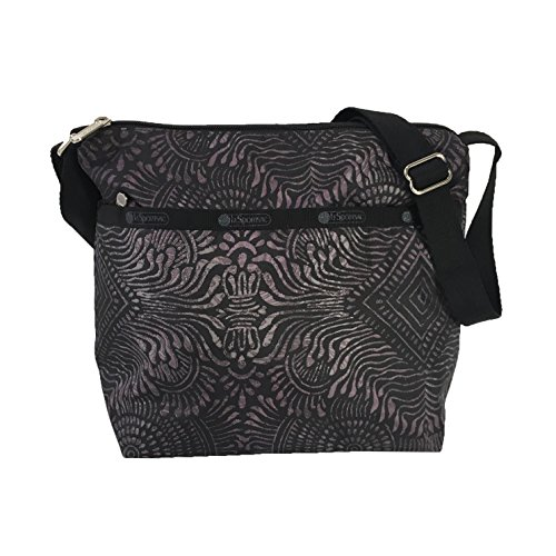 LeSportsac Cleo Crossbody Bag, Bali Charcoal