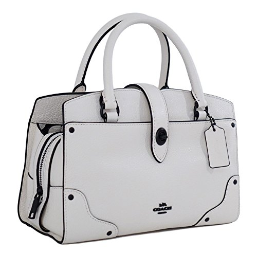 Coach Mercer Satchel 24 in Chalk Style F37779