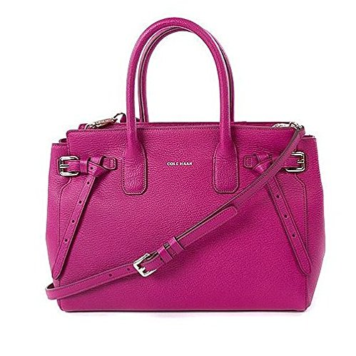 Cole Haan Women's Emery Small Satchel Azalea