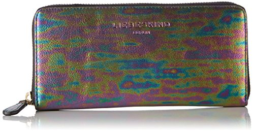 Liebeskind Berlin Gigiw7 Oilsli, Women's Wallet, Mehrfarbig (Multicol. Oil Slick), 3x10x20 cm (B x H T)