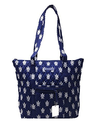 Vera Bradley Villager with Solid Interiors (Sea Turtles with Navy Interior)