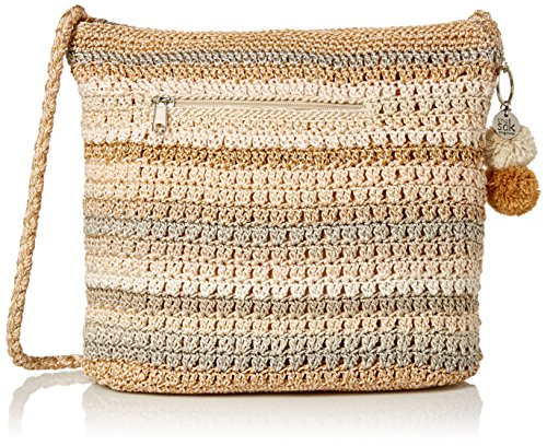 The Sak Greenwood Hobo Bag, Sand Stripe