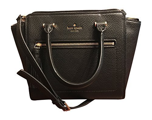 Kate Spade Chester Allyn Street Tassel Small Handbag Black