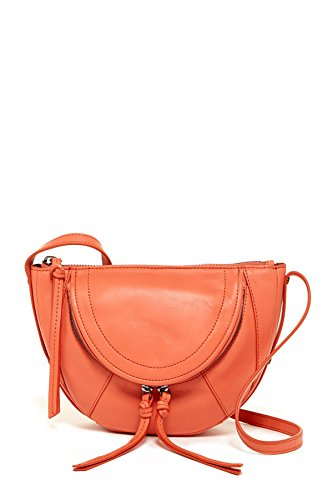 Kooba women's Clara Mini Leather Crossbody Bag 32-GRAPEFRUIT