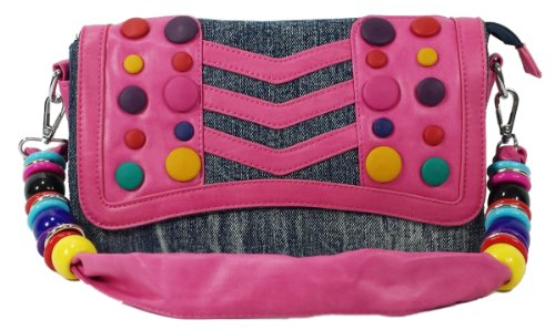 k13504 Mylux Women/Gril Close-out Clutch Bag (pink)