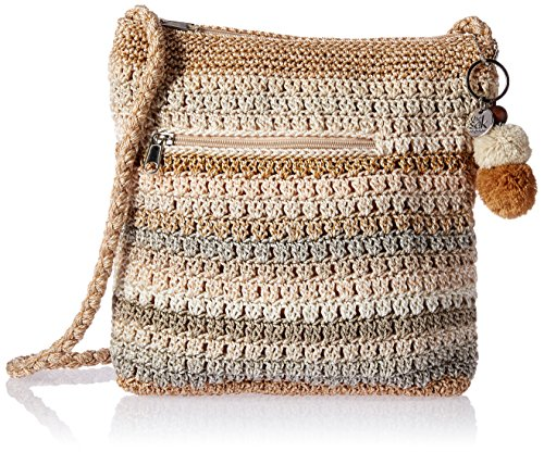 The Sak Greenwood Crossbody Cross Body, Sand Stripe