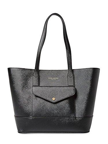 Marc Jacobs Saffiano Tote Bag Black