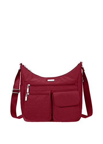 Baggallini Everywhere Travel Crossbody Bag, Apple